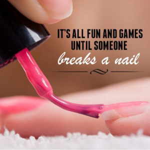 Nail lolz. Because it's Friday… And the weekend starts now. # ...