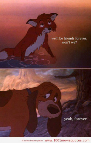 The Fox and the Hound (1981) - movie quote