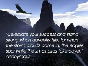 Eagle in flight quote