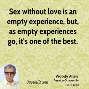 ... empty experience, but, as empty experiences go, it's one of the best