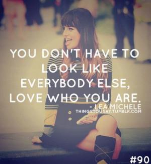 Lea Michele's Quote