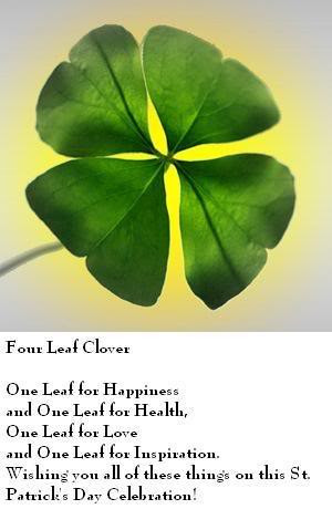 four leaf clover's meaning Image