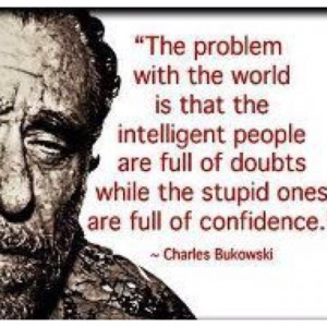 doubt and confidence