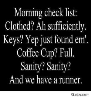 Funny morning quotes image ~ Funny Jokes to cheer U up