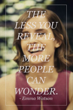 Emma watson, quotes, sayings, people, wonder