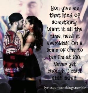 "The Way"" Ariana Grande ft. Mac Miller"