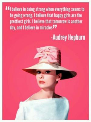 Audrey Hepburn #quote