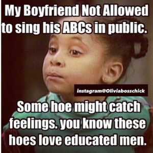 Olivia boss chick quote! Lol my boyfriend is not allowed to sing his ...