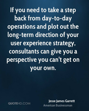 If you need to take a step back from day-to-day operations and plot ...