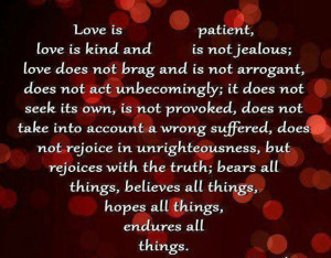 Do Not Brag Quotes | Love Is Kind Love Does not Brag