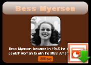 Bess Myerson Quotes and Quotations
