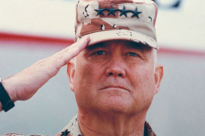 Schwarzkopf fue el comandante de la primera Guerra del Golfo