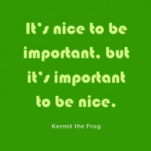 Kermit the Frog Quote