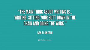 Quotes by Ben Fountain