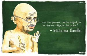 mahatma gandhi oil painting with quote,mahatma gandhi,2nd october ...