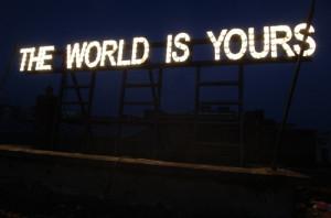 gardar eide einarsson, lights, neon, signs, text, words, world