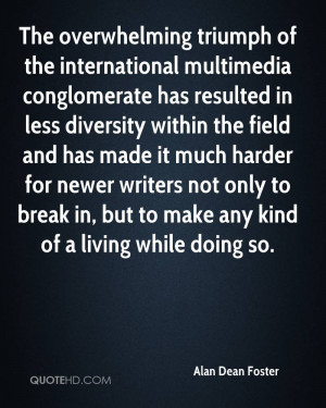 The overwhelming triumph of the international multimedia conglomerate ...