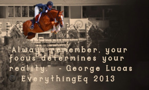 Equestrian Inspirational Quote