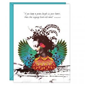 Singing Bird - 5x7 Card