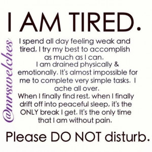 lupus #fatigue @mrswelches.com Learning to live with Lupus ...