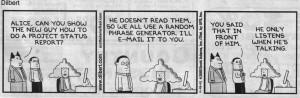 Dilbert version ) The CSR Network,