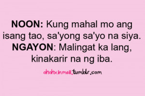 Sweet Love Quotes Tumblr Tagalog