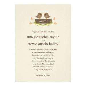 Sweet Jane Wedding Invitations