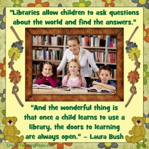 Quotes About Libraries : Download a free graphic and poster for this ...
