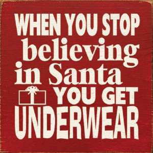 Funny Santa Quote