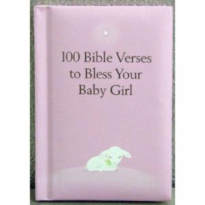 Hallmark Baby BOK1167 100 Bible Verses for Baby Girl Book
