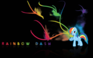 Rainbow Dash Wallpaper, An awesome wallpaper with Rainbow Dash!