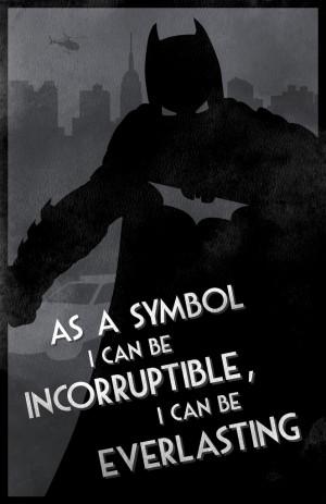 Minimalist Dark Knight Character Posters