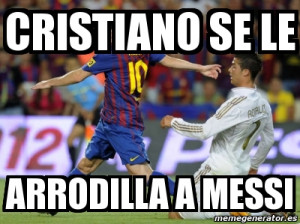 Memes Messi Cristiano Meme Portal
