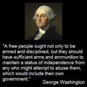George Washington Meme on 2nd Amendment