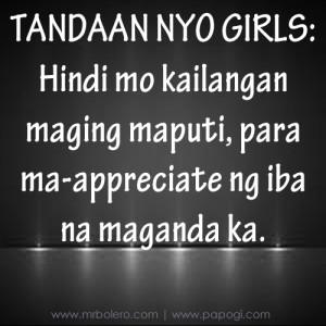 Patama tagalog love quotes