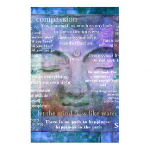 Spiritual Quotes Stationery