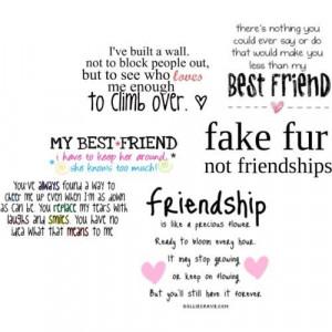 Friendship is like a precious flower best friend quote
