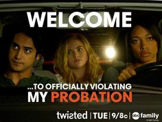 Twisted ABC Family | Season 1, Episode 6 Three for the Road | Quotes ...