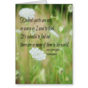 Anne Of Green Gables Quotes Kindred Spirits Kindred spirits anne green
