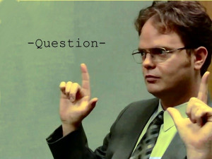 Dwight K. Schrute quotes