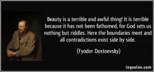 More Fyodor Dostoevsky Quotes