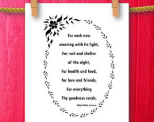 Fall Ralph Waldo Emerson Inspirational Quote Famous Quote Wall Quotes ...