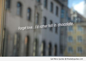 Famous chocolate quotes wallpapers
