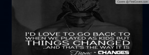 Tupac Changes Profile Facebook Covers
