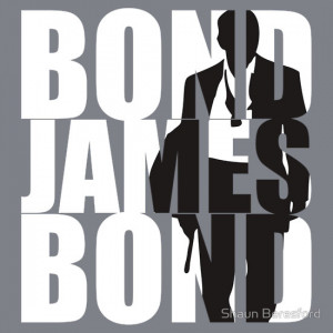 TShirtGifter presents: Bond, James Bond