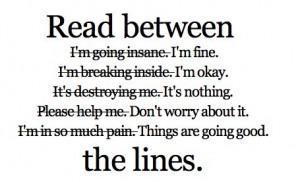 Tumblr Quotes Depression Cutting