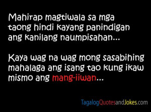 Tagalog Quotes Images - 2