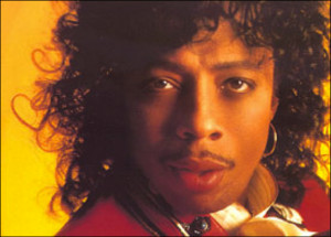 young Rick James giving us the model pose