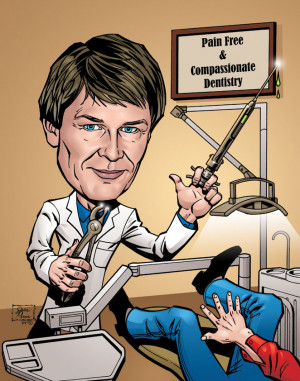 Caricature, Cartoon and Comic American Artist Illustrator - Ads, Gifts ...