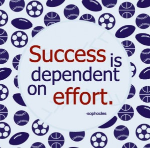 Smart quotes sayings success effort sophocles